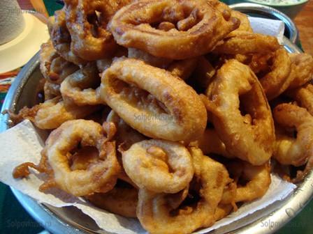 Кольца кальмара замороженные рецепт в кляре