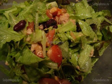 капля воды рецепт салата